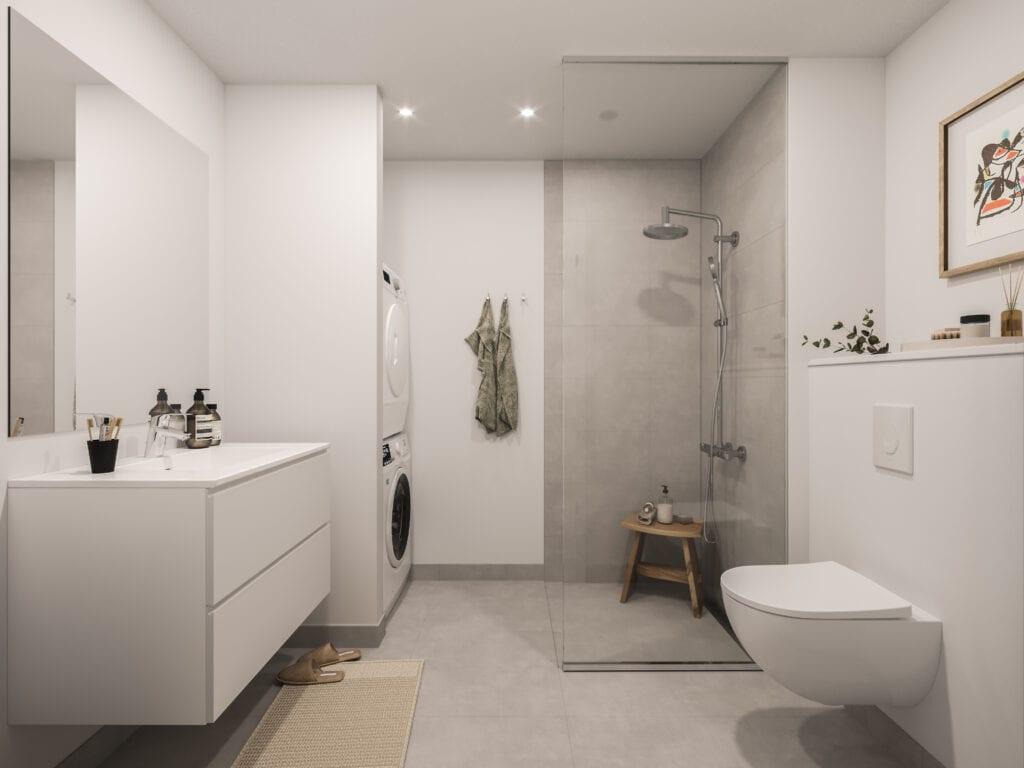 Sivrækkerne - badeværelse